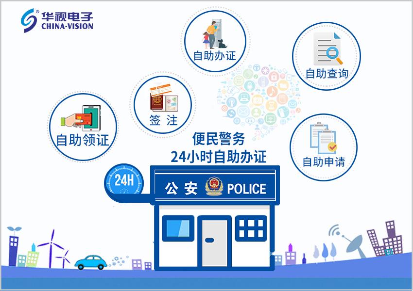 华视电子:自助服务事业部正式更名为智慧警务事业部图片